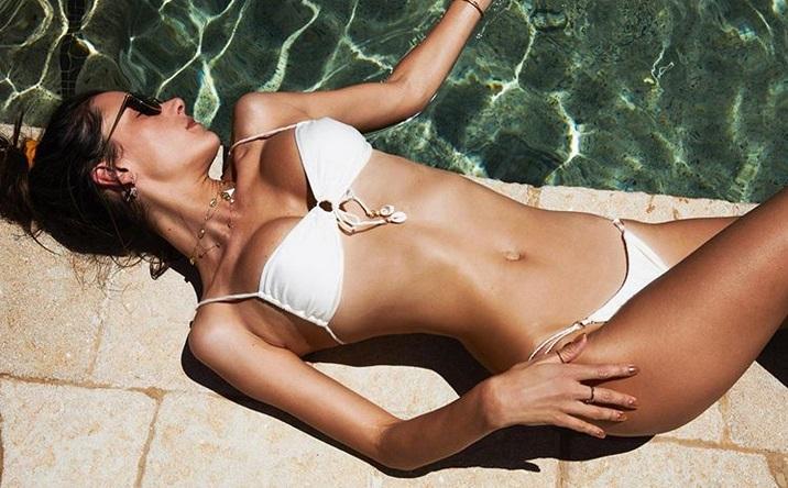Trenirajte kot supermodel Alessandra Ambrosio